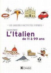Dernières parutions sur Auto apprentissage (parascolaire), L'italien de 11 à 99 ans