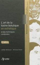 Souvent acheté avec Atlas de poche de dermatologie, le L'art de la toxine botulique en esthétique