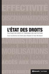 Dernières parutions dans Académique, L'Etat des droits. Politique des droits et pratiques des institutions