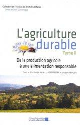 Souvent acheté avec Au plus près de l'assiette, le L'agriculture durable