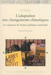 Dernières parutions dans Espace et Territoires, L' adaptation aux changements climatiques