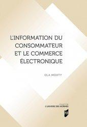 Dernières parutions sur Concurrence et consommation, L'information du consommateur et le commerce électronique