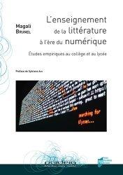 Dernières parutions sur Questions d'éducation, L'enseignement de la littérature à l'ère du numérique