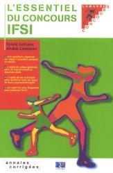 Souvent acheté avec Annales corrigées concours d'entrée IFSI, le L'essentiel du concours IFSI