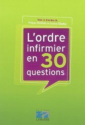 Souvent acheté avec Concours d'entrée en IFSI Culture générale, le L'ordre infirmier en 30 questions