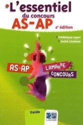 Dernières parutions dans Lamarre Concours, L'essentiel du concours AS-AP