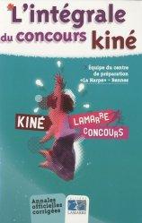 Souvent acheté avec Annales corrigées concours Kiné, le L'intégrale du concours Kiné
