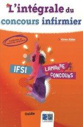 Souvent acheté avec Les tests d'aptitude au concours IFSI, le L'intégrale du concours infirmier