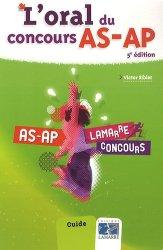 Souvent acheté avec Pack Concours AS-AP  2011 + Concours AS-AP 2012, le L'oral du concours AS-AP