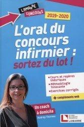Dernières parutions sur Epreuve orale, L'oral du concours infirmier, sortez du lot !