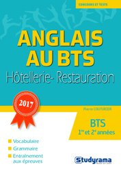 Dernières parutions dans Concours et tests, L'anglais au BTS hôtellerie-restauration