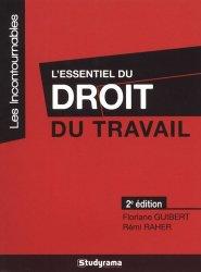 Dernières parutions dans Les Incontournables, L'essentiel du droit du travail. 2e édition