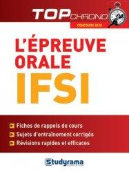 Souvent acheté avec Concours IFSI : l'épreuve orale 2017-2018, le L'épreuve orale IFSI