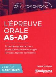 Dernières parutions sur Epreuve orale, L'épreuve orale AS-AP