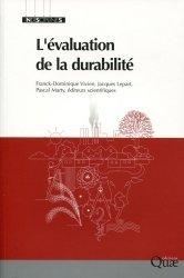 Dernières parutions dans Indisciplines , L'évaluation de la durabilité