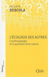 Dernières parutions dans Sciences en questions, L'écologie des autres