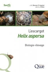 Dernières parutions sur Production animale, L'escargot Helix aspersa