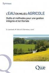 Dernières parutions dans Synthèses, L'eau en milieu agricole. Outils et méthodes pour une gestion intégrée et territoriale