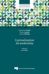 Dernières parutions sur Questions d'éducation, L'actualisation du leadership