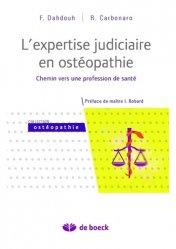 Souvent acheté avec Pack Étudiant Médecine 1 Black, le L'expertise judiciaire en ostéopathie