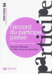 Dernières parutions dans Grevisse Langue française, L'accord du participe passé