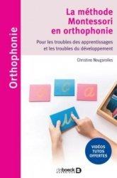 Dernières parutions sur Orthophonie, L'approche Montessori en orthophonie