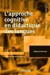 Dernières parutions sur Questions d'éducation, L'approche cognitive en didactique des langues