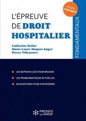 Nouvelle édition L'épreuve de droit hospitalier