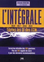 Dernières parutions sur ECN iECN DFASM DCEM, L'intégrale QI 2016-2019