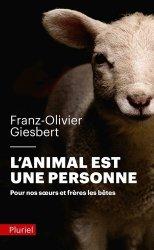 Dernières parutions dans Pluriel, L'animal est une personne