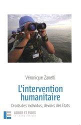 Dernières parutions dans Le Champ éthique, L'intervention humanitaire. Droit des individus, devoir des Etats