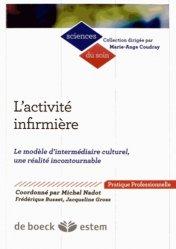 Dernières parutions dans Sciences du soin, L'activité infirmière https://fr.calameo.com/read/004967773b9b649212fd0