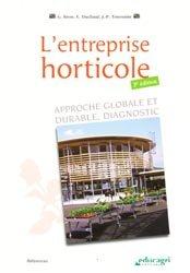 Dernières parutions sur Floriculture - Pépinière, L'entreprise horticole