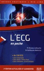 Souvent acheté avec Cardiovasculaire Pneumologie Néphrologie Réanimation, le L'ECG en poche