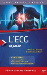 Dernières parutions sur Cardiologie - Médecine vasculaire, L'ECG en poche