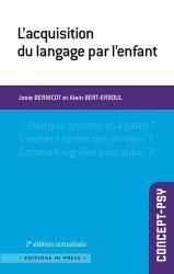 Dernières parutions dans Concept-psy, L'acquisition du langage par l'enfant
