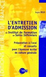 Dernières parutions sur Epreuve orale, L'entretien d'admission en IFSI