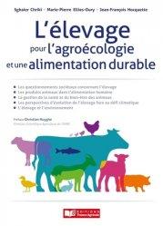 Dernières parutions sur Agriculture biologique - Agroécologie - Permaculture, L'élevage pour l'agroécologie et une alimentation durable