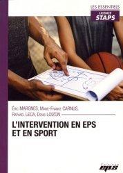 Dernières parutions sur Enseignement du sport, L'intervention en EPS et en sport https://fr.calameo.com/read/000015856c4be971dc1b8