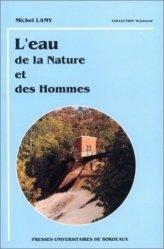 Dernières parutions dans Scieteren, L'eau De la nature et de hommes