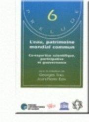 Dernières parutions dans Prélude, L'eau, patrimoine mondial commun