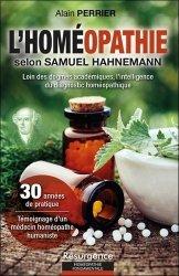 Dernières parutions dans Résurgence, L'homéopathie selon Samuel Hahnemann
