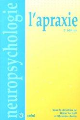 Dernières parutions dans Neuropsychologie, L'apraxie