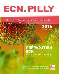 Souvent acheté avec Cancérologie, le L'ECN.PILLY - Maladies infectieuses et tropicales 2016 Pilli ecn, ecn pilly 2020, pilly ecn 2021, pilly ecn feuilleter, ecn pilli consulter, ecn pilly 6ème édition, pilly ecn 7ème édition, livre ecn
