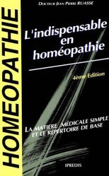 Souvent acheté avec Rhumatologie, le L'indispensable en homéopathie
