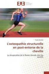 Dernières parutions sur Ostéopathie, L'ostéopathie structurelle en post-entorse de la cheville