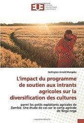 Dernières parutions sur Agriculture dans le monde, L'impact du programme de soutien aux intrants agricoles sur la diversification des cultures