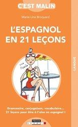 Dernières parutions sur Auto apprentissage (parascolaire), L'espagnol en 21 lecons c'est malin