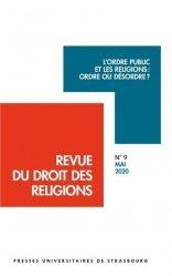 Dernières parutions sur Revues de droit et justice, L'ordre public et les religions : ordre ou désordre ?