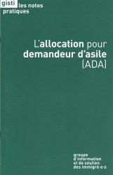 Dernières parutions dans Les notes pratiques, L'allocation pour demandeur d'asile (ADA)